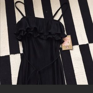 Juicy Couture black maxi dress